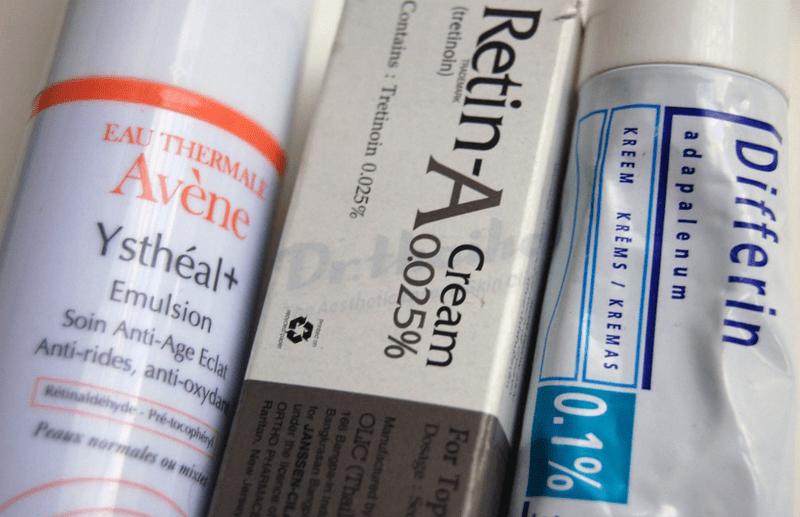 Thông tin cần thiết khi sử dụng retinoid đường bôi