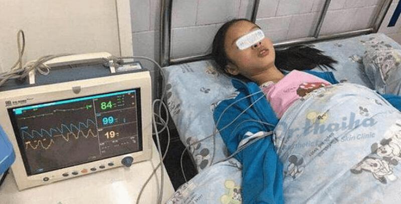Cô gái 19 tuổi nhập viện chỉ vì nặn một nốt mụn