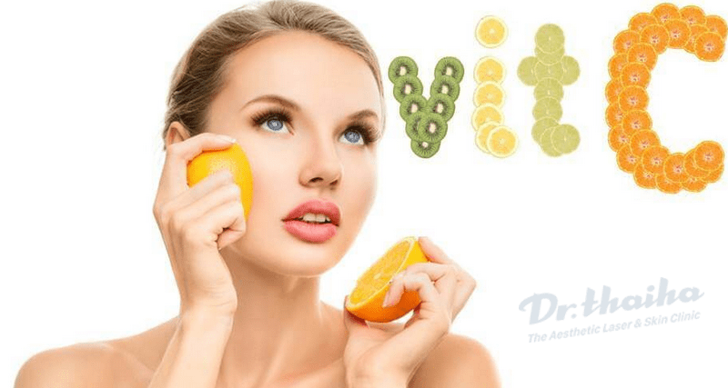 Tư vấn sử dụng vitamin C trong phòng tránh lão hóa cho da