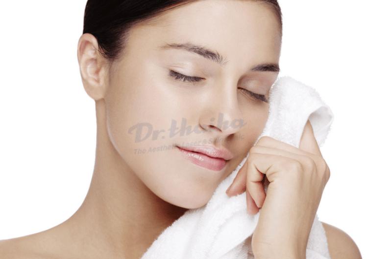 Hướng dẫn chăm sóc da sau khi căng chỉ toàn mặt